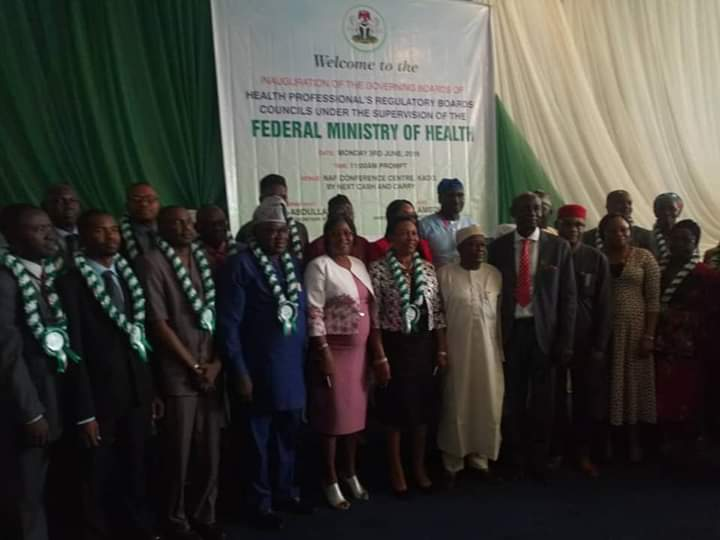 FGN RECONSTITUTES AND INNAUGURATES GOVERNING BOARD OF MRTBN